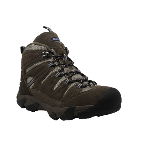 Women's Composite Toe Work Hiker Brown/Lilac