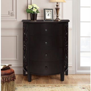 Gallerie Decor Sutton Wood 4-drawer Chest