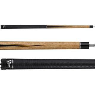 Viper Naturals Dark Brown 58-inch 2-Piece Quick Release Billiard Cue Stick