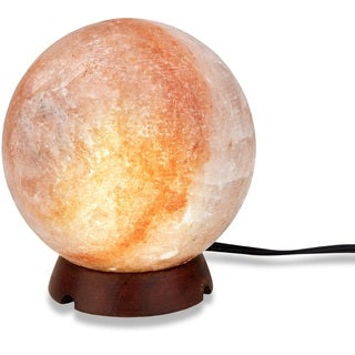 Zennery Himalayan Salt Sphere/Globe Shaped Lamp