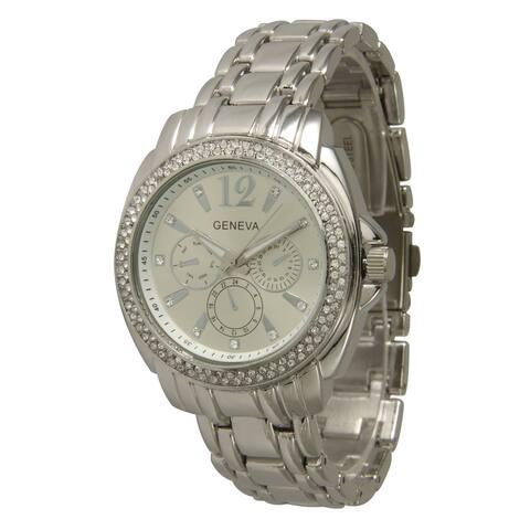 Olivia Pratt Elegant Metal Bracelet Watch
