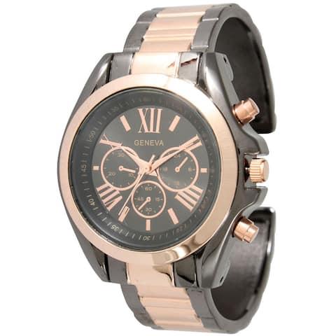 Olivia Pratt Classic Roman Numeral Bangle Watch