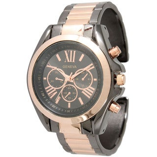 Olivia Pratt Classic Roman Numeral Bangle Watch