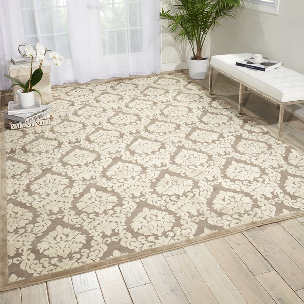 Nourison Ultima Silver/Ivory Area Rug (2'2 x 3'9) - 2'2 x 3'9