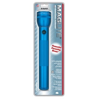 Blue 3D Cell Flashlight