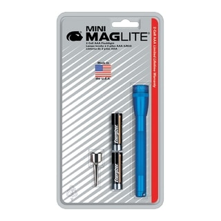 Ultra MINI-Mag Maglite ROY Blue Flashlight