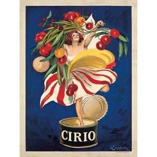 Leonetto Cappiello 'Cirio' Vintage Advertisement Gallery Wrapped Canvas Art