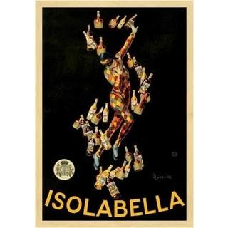 Leonetto Cappiello 'Isolabella' Vintage Advertisement Gallery Wrapped Canvas Art