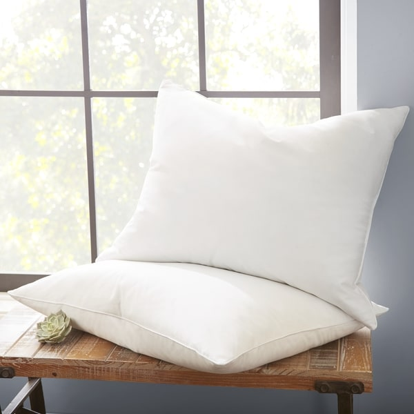 Soft Essentials Premium Layered Down Pillow (Set of 2) - White