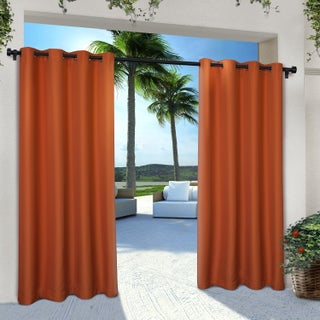 ATI Home Indoor/Outdoor Cabana Curtain Panel Pair with Grommet Top (More options available)