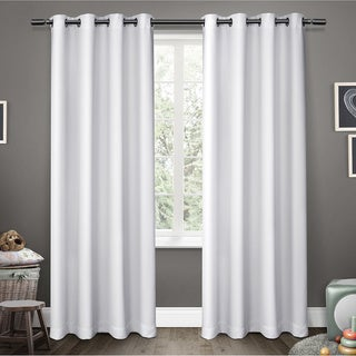 ATI Home Sateen Room Darkening Kids Grommet Top Window Curtain Panel Pair