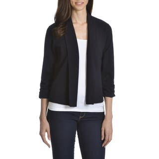 89th& Madison Women's Rayon/ Polyester Open Fly-away Shrug|https://ak1.ostkcdn.com/images/products/12349586/P19178370.jpg?impolicy=medium
