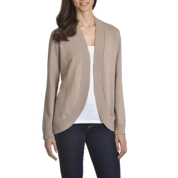 Shop 89th Madison Womens Open Fly Away Cardigan Free Shipping
