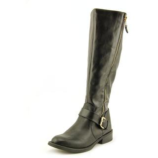 White Mountain Women's 'Lurch' Black Synthetic Boots