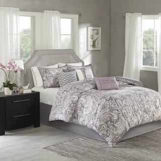 Link to Madison Park Lira Printed Paisley Comforter 7-piece Set Similar Items in Comforter Sets