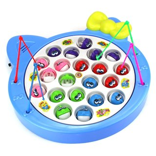 Velocity Toys Blue Fishing Game