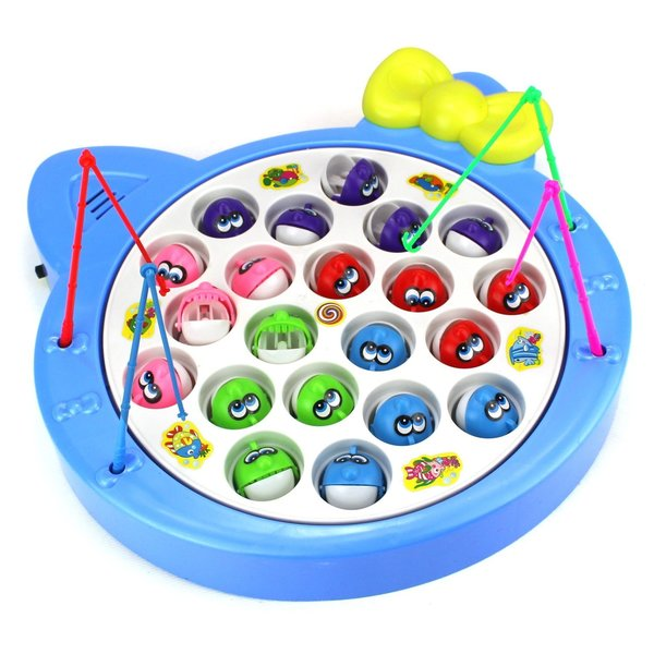 Velocity Toys Blue Fishing Game