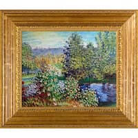 Monet Corner of the Garden at MontgeronHand Painted Oil Reproduction