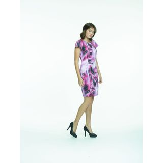 Amelia Cotton Sateen Printed Dress