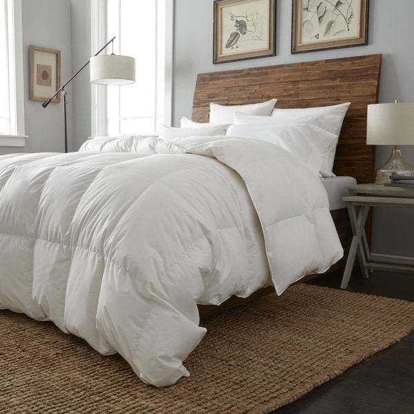 European Heritage Oversized Cologne White Goose Down All Season Comforter