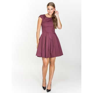 Amelia Fit and Flair Cotton Dress