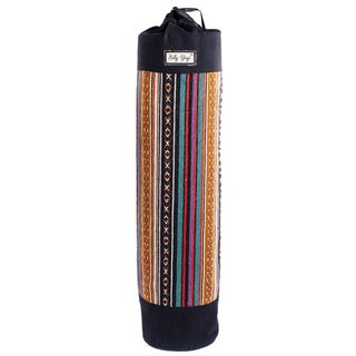 Colorful Cotton knit Gheri Yoga Mat Bag (Nepal)