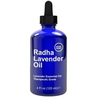 Radha 4-ounce 100-percent Lavender Essential Oil