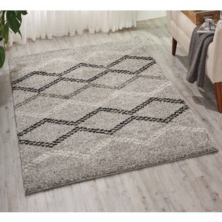 Nourison Tangier Silver Rug (8' x 10')