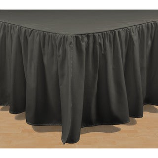 Brielle Honeycomb Solid Bed Skirt