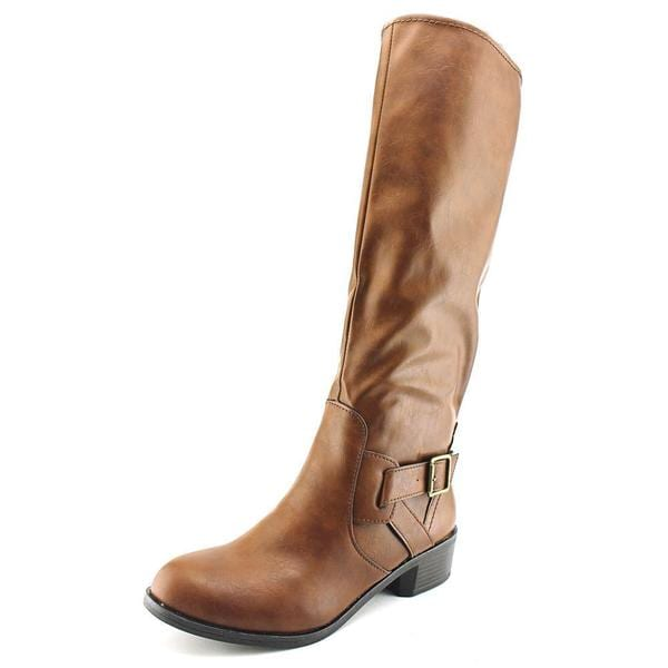 59569f2ba83 Shop Arizona Jean Company Women s  Dylan  Brown Faux Leather Boots ...