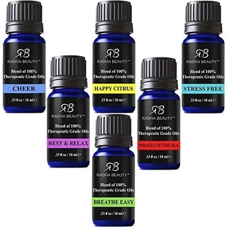 Radha Top 6 Essential Oil Blends Set