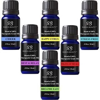 Radha Top 6 Essential Oil Blends Set