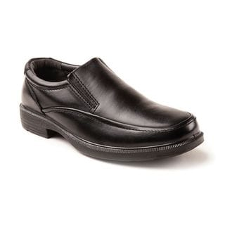 Deer Stags Men's Brooklyn Black Twin Gore Slip-on