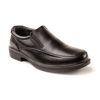 Deer Stags Men's Brooklyn Black Twin Gore Slip-on|https://ak1.ostkcdn.com/images/products/12350248/P19178579.jpg?impolicy=medium
