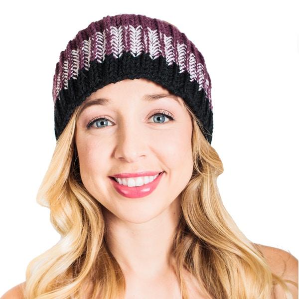 Shop Handmade Womens Soft Knitted Warm Snowboarding Ski Headband
