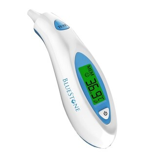 Bluestone Digital Ear Thermometer-Easy To Read Digital LCD Temperature Display