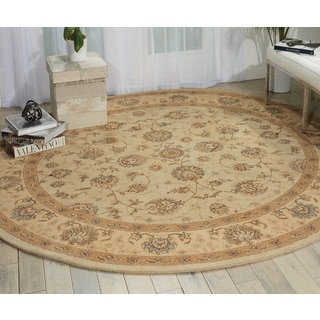 Nourison Heritage Hall Cream Area Rug (9' Round)
