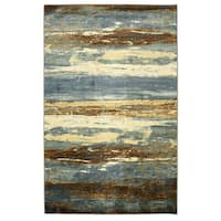 """Mohawk Home New Wave Abstract Sea Urban Area Rug - 7'6"""" x 10'"""