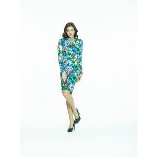 Amelia Knit Printed Dress