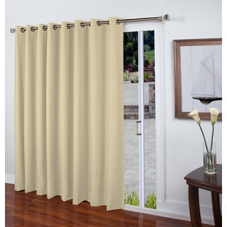Eden Insulated Linen-look Grommet Patio Panel