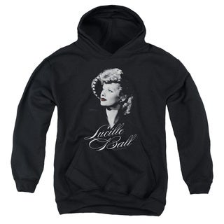 Lucille Ball/Pretty Gaze Youth Pull-Over Hoodie in Black