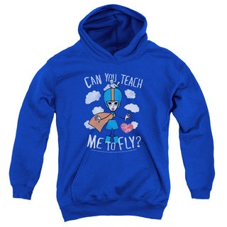 Lucy/Fly Youth Pull-Over Hoodie in Royal Blue