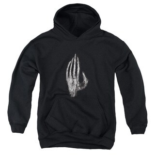 LOTR/Hand Of Saruman Youth Pull-Over Hoodie in Black