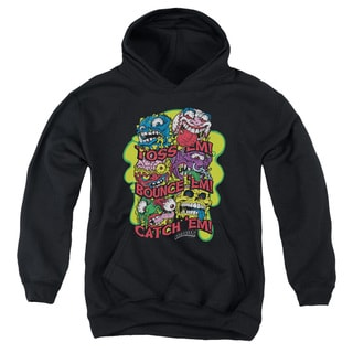 Madballs/Toss Em Youth Pull-Over Hoodie in Black