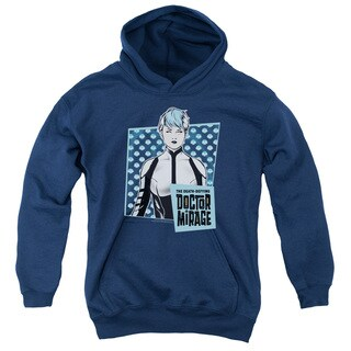 Doctor Mirage/Good Doctor Youth Pull-Over Hoodie in Navy