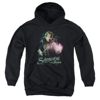 LOTR/Samwise The Brave Youth Pull-Over Hoodie in Black