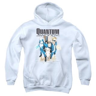 Quantum and Woody/Quantum and Woody Youth Pull-Over Hoodie in White