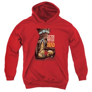 Doctor Mirage/Talks To The Dead Youth Pull-Over Hoodie in Red