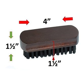 Smartek Original Wood Lint Pet Hair Dust Remover Clothes Brush