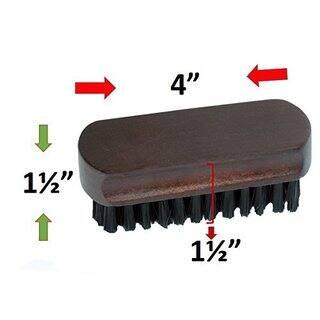Smartek Original Wood Lint Pet Hair Dust Remover Clothes Brush